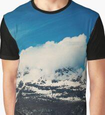 Alaska Mountain Graphic T-Shirt