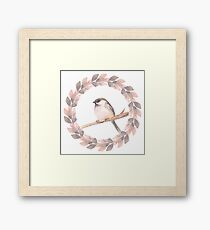 Cute bird Framed Print