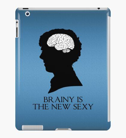 Brainy Is The New Sexy iPad Case/Skin