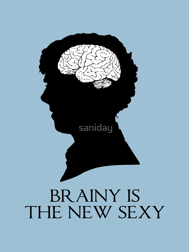 Brainy Is The New Sexy | Women's T-Shirt