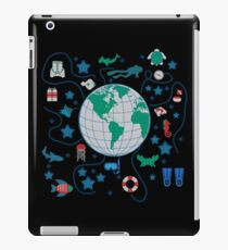 diving world iPad Case/Skin