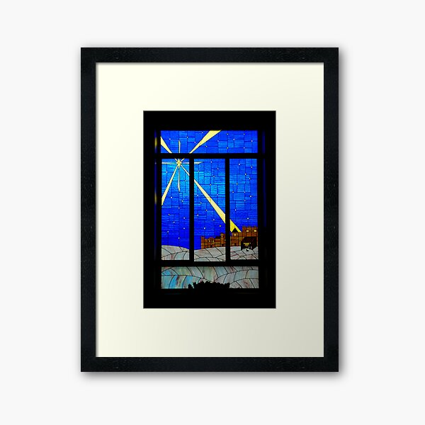 Panes of Glass Framed Art Print