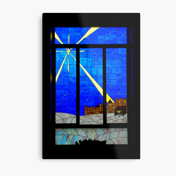 Panes of Glass Metal Print