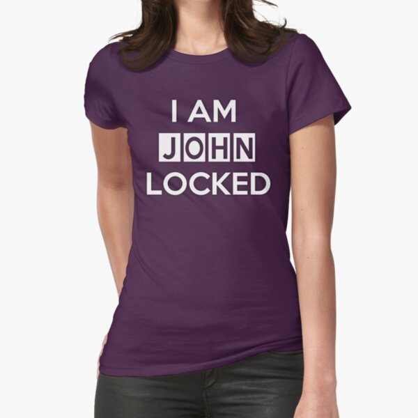 Johnlocked Fitted T-Shirt