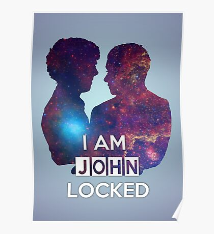 Johnlocked Poster