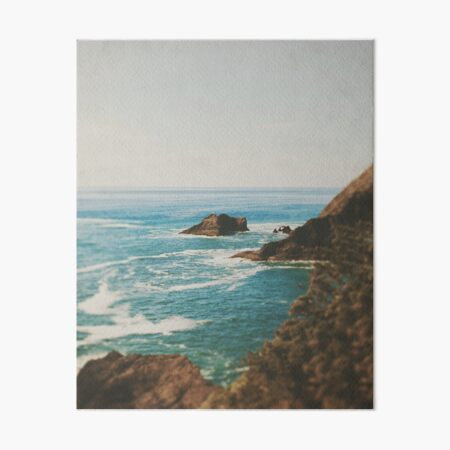 Oregon Coast Art Board Print
