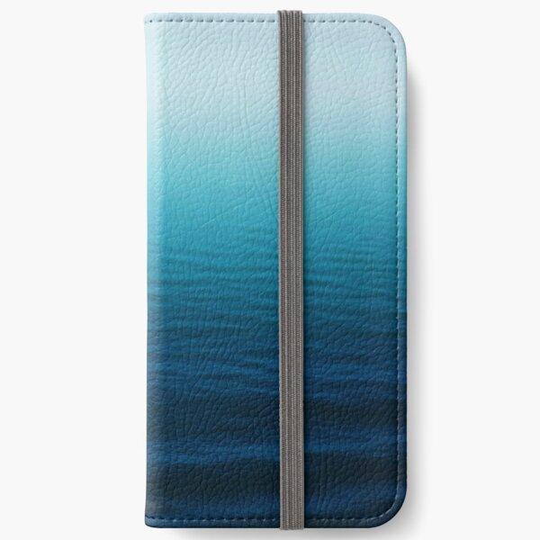 Deep Blue iPhone Wallet