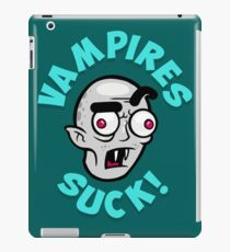 Vampires Suck iPad Case/Skin