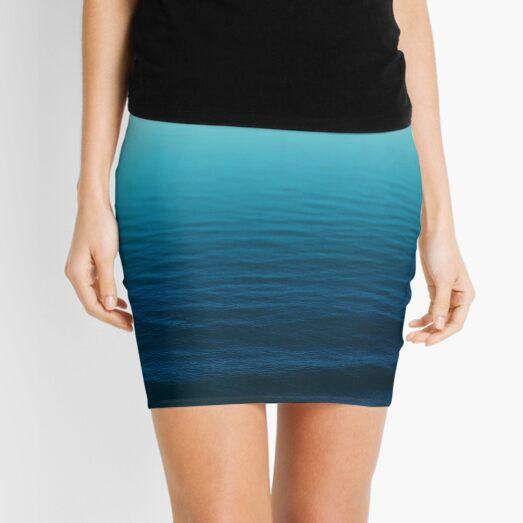 Deep Blue Mini Skirt