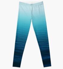 Tiefes Blau Leggings