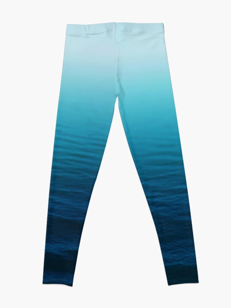 Alternate view of Deep Blue Leggings