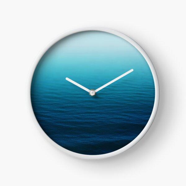 Deep Blue Clock