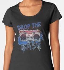 drop the bass Women's Premium T-Shirt