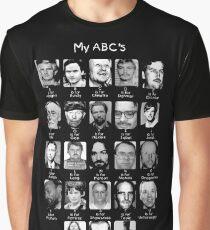 Serial Killer ABC's Graphic T-Shirt