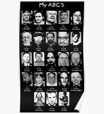 Serial Killer ABC's Poster