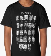 Serial Killer ABC's Long T-Shirt