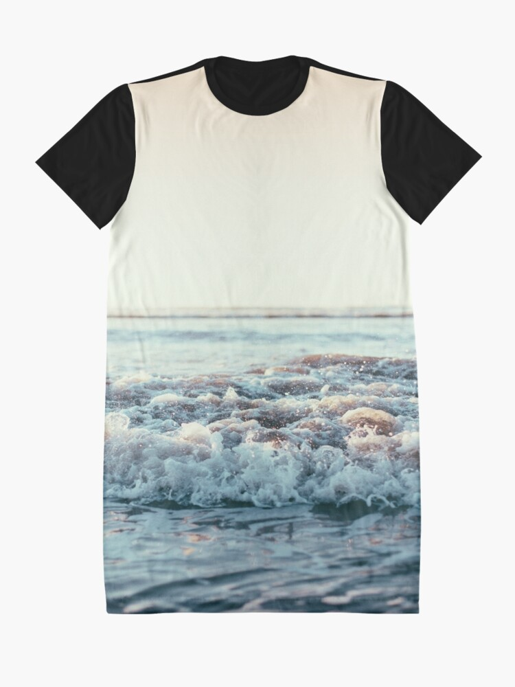Alternate view of Pacific Ocean Graphic T-Shirt Dress