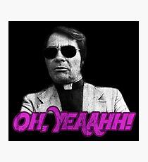 Rev. Jim Jones - Oh, Yeaahh! Photographic Print