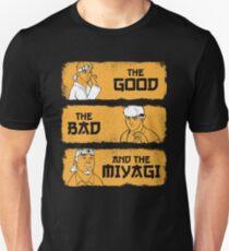 Das Gute, das Schlechte und das Miyagi Unisex T-Shirt
