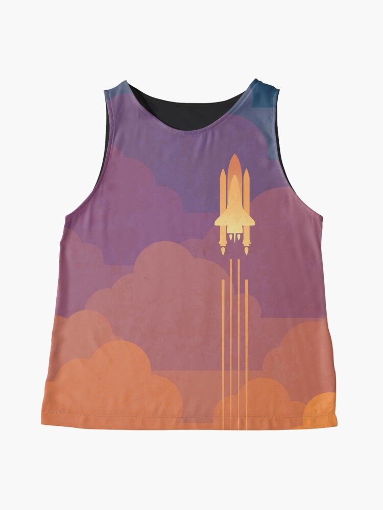 Alternate view of Clouds Sleeveless Top