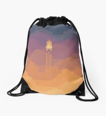 Clouds Drawstring Bag
