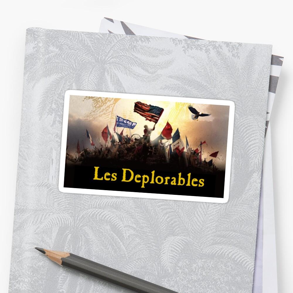 Les Deplorables Trump by Ryan M