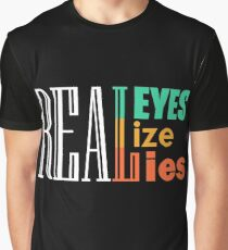 REALEYES LIZE LIES Graphic T-Shirt