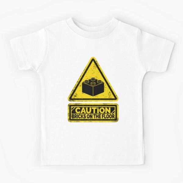 Watch Your Steps Kids T-Shirt