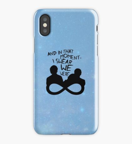 I Swear We Were Infinite iPhone Case/Skin