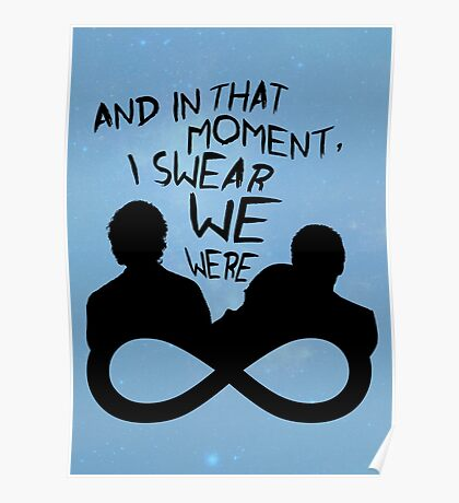 I Swear We Were Infinite Poster