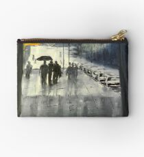 Rainy City Street Studio Pouch