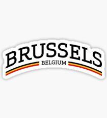 Brussels Belgium Sticker