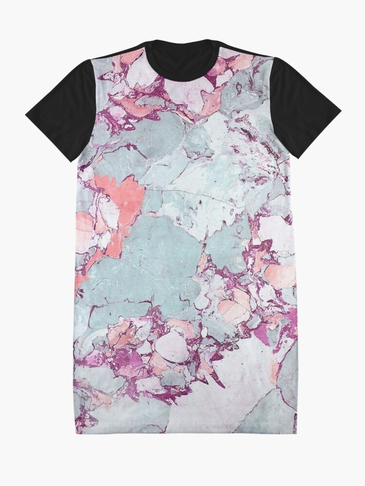 Alternative Ansicht von Marmor Art V13 #redbubble #muster #home #tech #lifestyle T-Shirt Kleid