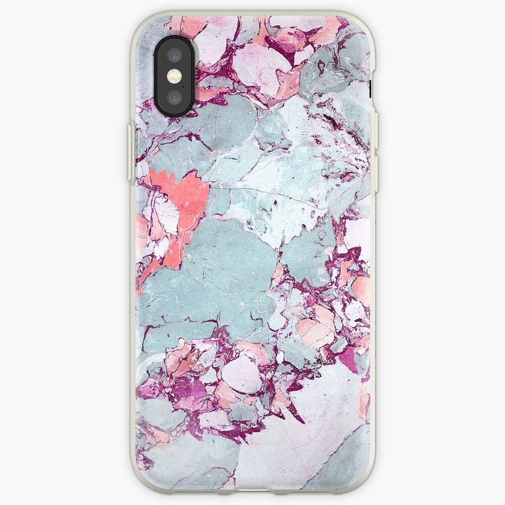 Marmor Art V13 #redbubble #muster #home #tech #lifestyle iPhone-Hülle & Cover