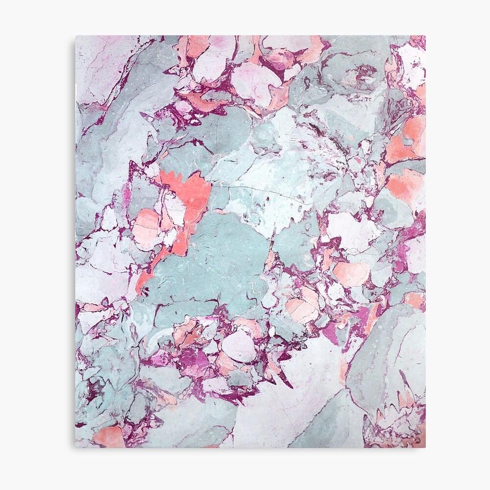 Marmor Art V13 #redbubble #muster #home #tech #lifestyle Metallbild