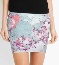 Marble Art V13 #redbubble #pattern #home #tech #lifestyle Mini Skirt