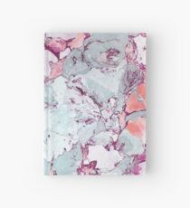 Marble Art V13 #redbubble #pattern #home #tech #lifestyle Hardcover Journal