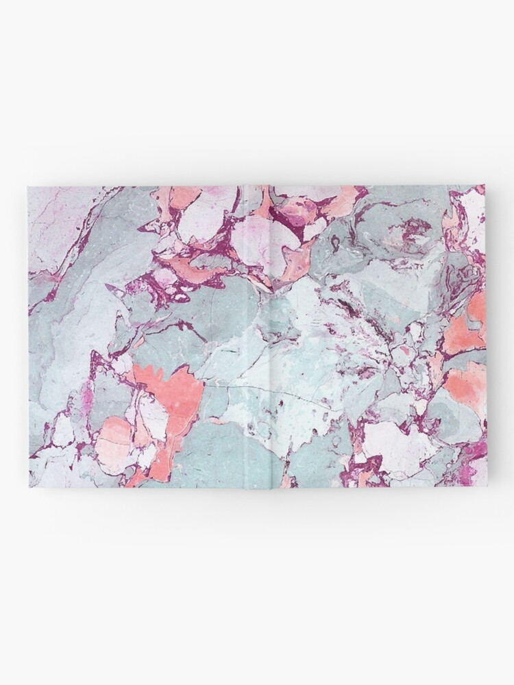 Alternate view of Marble Art V13 #redbubble #pattern #home #tech #lifestyle Hardcover Journal