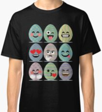 Easter Emoji  Funny Easter Egg Faces  Classic T-Shirt