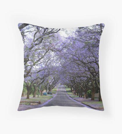 Spring in Pretoria Throw Pillow