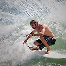 Surfin' Moffat Headland by AdamDonnelly