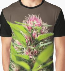 Pink Hair Lady Graphic T-Shirt
