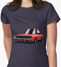Dodge Challenger R/T Womens Fitted T-Shirt