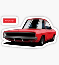 Dodge Challenger R/T Sticker