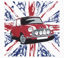British Mini 01 (Paint) | Unisex T-Shirt