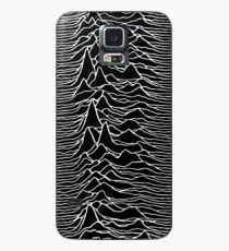 CP 1919 - Joy Division Unknown Pleasures: White on clear Case/Skin for Samsung Galaxy