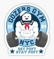 Gozers Gym Sticker