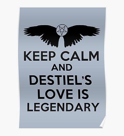 Destiel is Legendary Poster