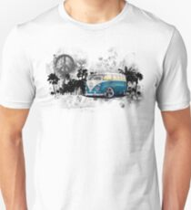 Splitty Grunge (B) Unisex T-Shirt