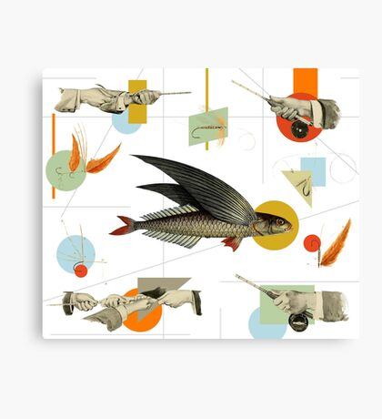 FLY FISH FLY Canvas Print